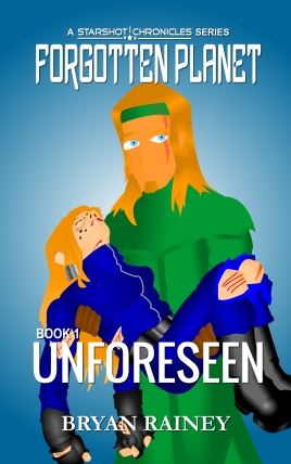 Forgotten Planet 01 - Unforeseen. Cover - D